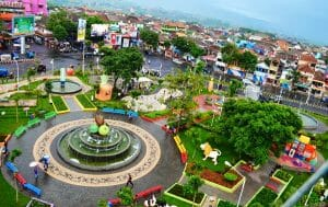 how to go to batu points of interest city square