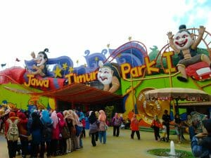 how to go to batu points of interest Jatim park