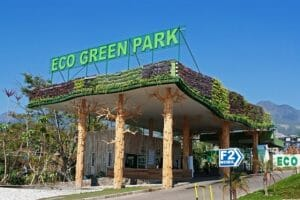 how to go to batu points of interest eco green park