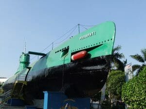 Surabaya Indonesia Submarine Monument-min