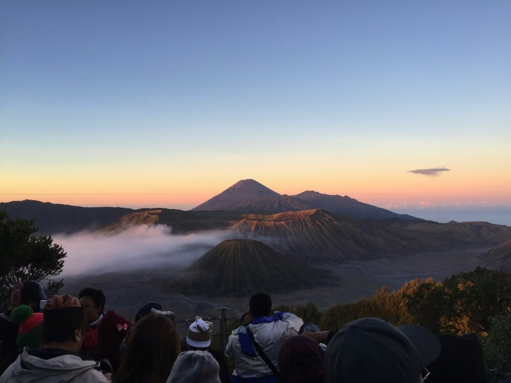 4 Days Bromo Ijen Crater Blue Flame Travel Package penanjakan sunrise